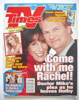 <!--1996-02-03-->TV Times magazine - Jane Gurnett and Clive Mantle cover (3