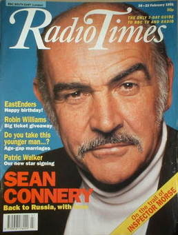 <!--1991-02-16-->Radio Times magazine - Sean Connery cover (16-22 February