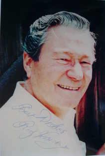 Reg Varney autograph