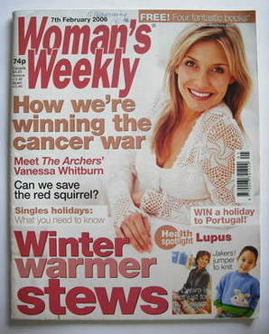 <!--2006-02-07-->Woman's Weekly magazine (7 February 2006 - British Edition