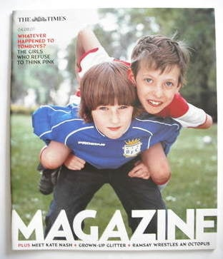 <!--2007-08-04-->The Times magazine - Whatever Happened To Tomboys Cover (4