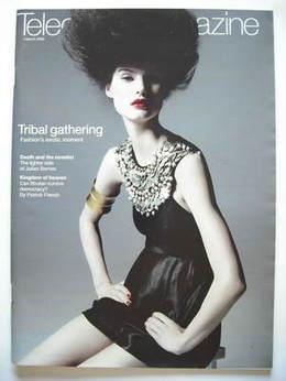 <!--2008-03-01-->Telegraph magazine - Fashion's Exotic Moment cover (1 Marc