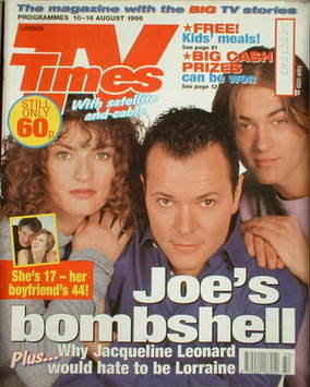 <!--1996-08-10-->TV Times magazine - Jacqueline Leonard, Michael French and