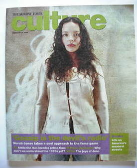 Culture magazine - Norah Jones cover (10 February 2008)