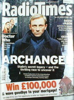 <!--2005-03-19-->Radio Times magazine - Daniel Craig cover (19-25 March 200