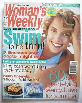 <!--2004-06-29-->Woman's Weekly magazine (29 June 2004)