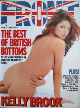 Front magazine - Kelly Brook cover (June 2002)