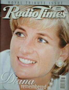<!--1997-09-13-->Radio Times magazine - Princess Diana cover (13-19 Septemb