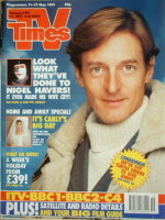 <!--1991-05-11-->TV Times magazine - Nigel Havers cover (11-17 May 1991)