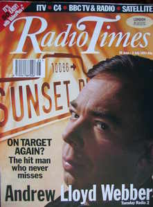<!--1993-06-26-->Radio Times magazine - Andrew Lloyd Webber cover (26 June