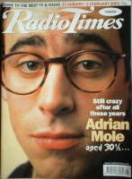 <!--2001-01-27-->Radio Times magazine - Stephen Mangan cover (27 January-2 February 2001)