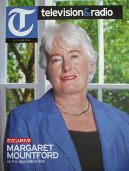 Television&Radio magazine - Margaret Mountford cover (6 June 2009)