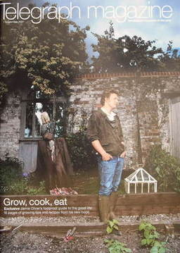 <!--2007-09-01-->Telegraph magazine - Jamie Oliver cover (1 September 2007)