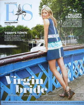 <!--2008-08-01-->Evening Standard magazine - Isabella Calthorpe cover (1 Au
