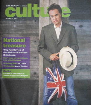 Culture magazine - Ray Davies cover (21 October 2007)
