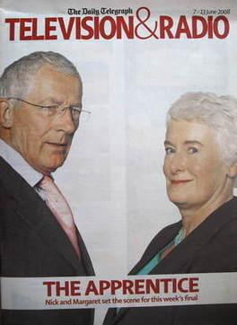Television&Radio magazine - Margaret Mountford and Nick Hewer cover (7 June