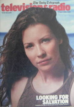 Television&Radio magazine - Evangeline Lilly cover (29 April 2006)