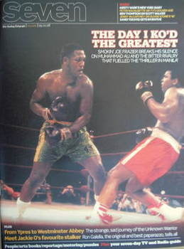 Seven magazine - Joe Frazier and Muhammad Ali cover (9 November 2008)
