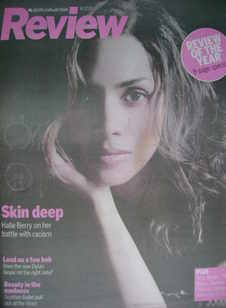 Review magazine - Halle Berry cover (16 December 2007)