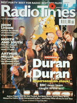 Radio Times Magazine Duran Duran And Bbc News Team Cover