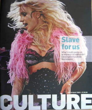 <!--2009-06-07-->Culture magazine - Britney Spears cover (7 June 2009)