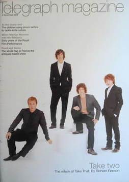 <!--2006-11-04-->Telegraph magazine - Take That cover (4 November 2006)