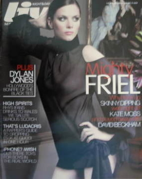 Live magazine - Anna Friel cover (21 January 2007)