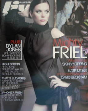 <!--2007-01-21-->Live magazine - Anna Friel cover (21 January 2007)