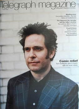 <!--2009-04-04-->Telegraph magazine - Tom Hollander cover (4 April 2009)