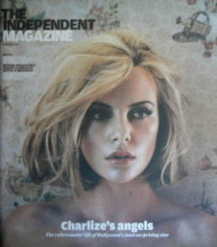 The Independent magazine - Charlize Theron cover (7 March 2009)