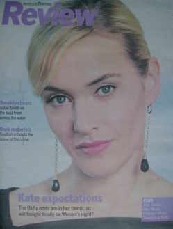 <!--2009-02-08-->Review magazine - Kate Winslet cover (8 February 2009)
