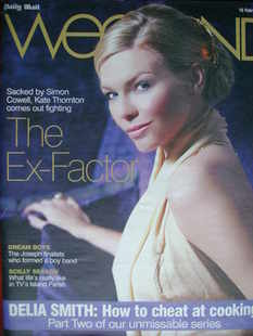 <!--2008-02-16-->Weekend magazine - Kate Thornton cover (16 February 2008)