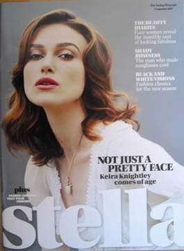 <!--2007-09-02-->Stella magazine - Keira Knightley cover (2 September 2007)