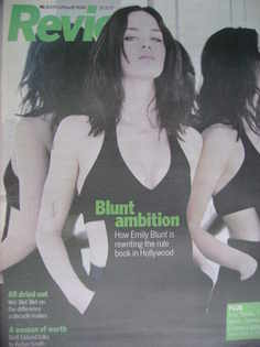 Review magazine - Emily Blunt cover (28 October 2007)