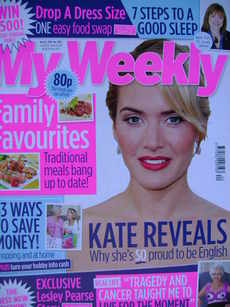 My Weekly magazine (16 May 2009 - Kate Winslet cover)