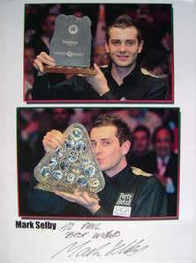 Mark Selby autograph (Snooker Player)