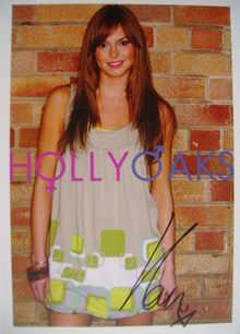 Hannah Tointon autograph (ex-Hollyoaks actor)