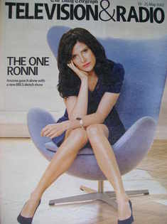 Television&Radio magazine - Ronni Ancona cover (19 May 2007)