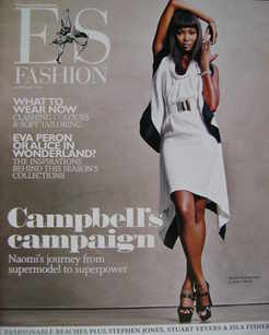 <!--2009-02-20-->Evening Standard magazine - Naomi Campbell cover (20 Febru