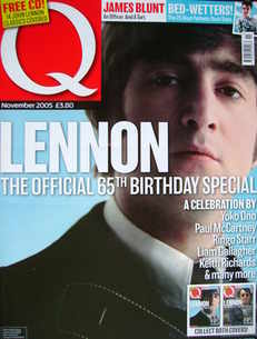 Q magazine - John Lennon cover (November 2005)