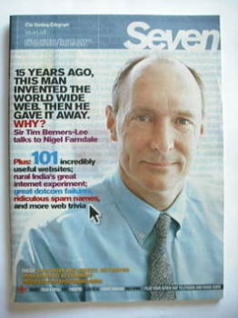 Seven magazine - Sir Tim Berners-Lee cover (30 March 2008)