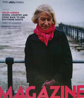 <!--2007-09-29-->The Times magazine - Helen Mirren cover (29 September 2007