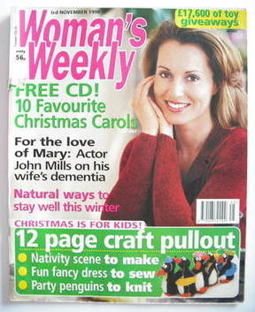 <!--1998-11-03-->Woman's Weekly magazine (3 November 1998)
