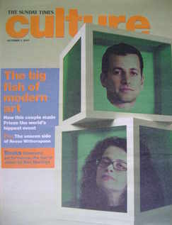 Culture magazine - Matthew Slotover and Amanda Sharp cover (7 October 2007)