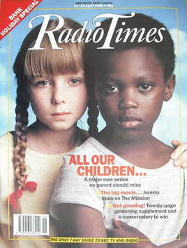 <!--1990-04-14-->Radio Times magazine - All Our Children cover (14-20 April