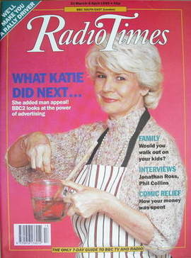 <!--1990-03-31-->Radio Times magazine - Mary Holland cover (31 March-6 Apri