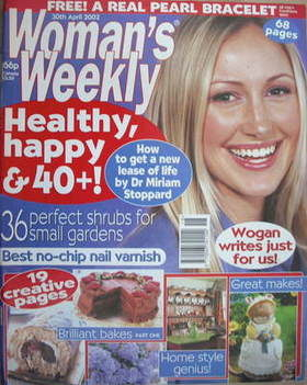 <!--2002-04-30-->Woman's Weekly magazine (30 April 2002)