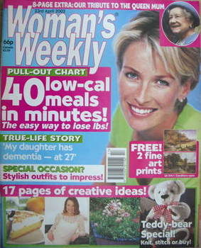 <!--2002-04-23-->Woman's Weekly magazine (23 April 2002)