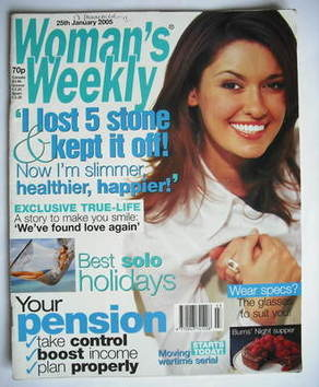 <!--2005-01-25-->Woman's Weekly magazine (25 January 2005)