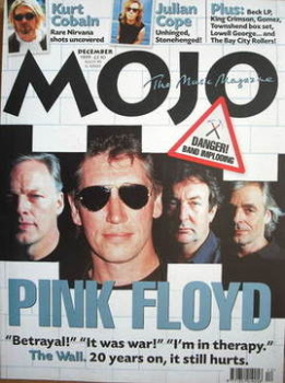 MOJO magazine - Pink Floyd cover (December 1999 - Issue 73)